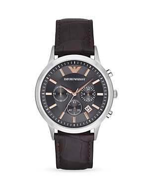 Emporio Armani Renato Chronograph Watch, 43mm