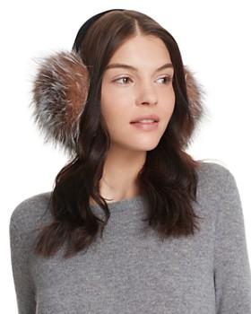 Surell - Fox Fur Earmuffs