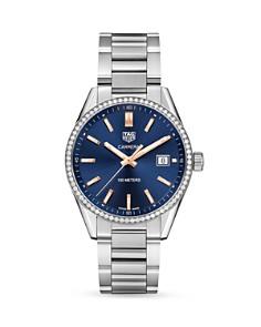 TAG Heuer - Carrera Diamond Bezel Watch, 39mm