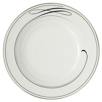 "Waterford - ""Ballet Ribbon"" Rim Soup Plate"