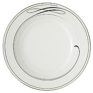 Waterford Crystal Ballet Ribbon Rim Soup Plate