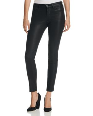J Brand Mid Rise Super Skinny Jeans in Fearless