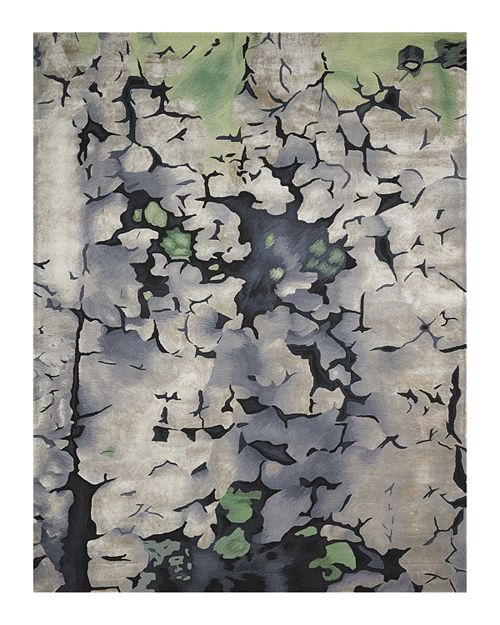 "Nourison - Prismatic Rug - Abstract Charcoal, 3'9"" x 5'9"""