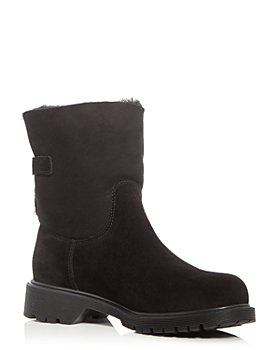 La Canadienne - Women's Honey Shearling-Lined Waterproof Boots