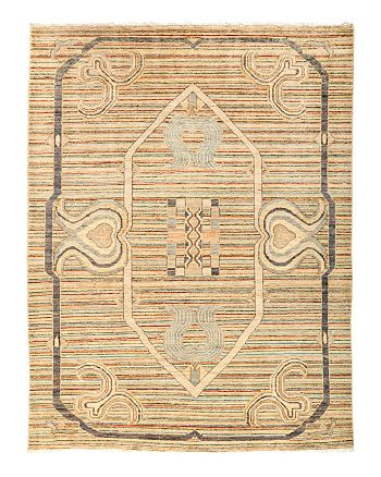 "Solo Rugs - Suzani Oriental Area Rug, 5'3"" x 6'9"""