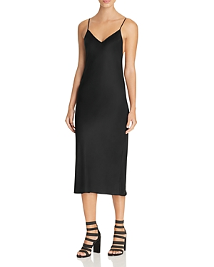 Dkny Satin Slip Dress