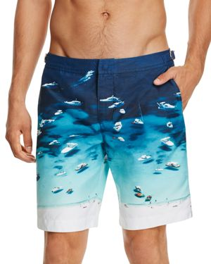 Orlebar Brown Dane Ii Photographic Boat Party Board Shorts