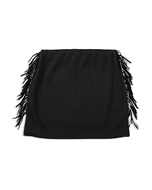 Ralph Lauren Childrenswear Girls' French Terry Fringed Mini Skirt - Sizes S-xl