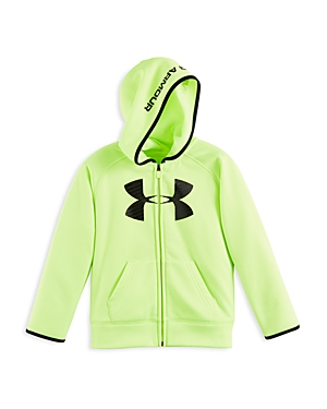 Under Armour Boys' Big Logo Fleece Hoodie - Sizes 4-7