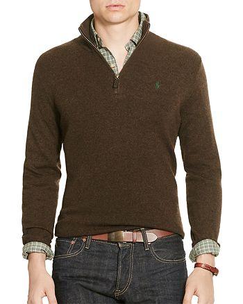 addd287be Polo Ralph Lauren Merino Wool Half-Zip Sweater