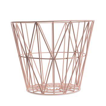 Ferm Living - Wire Baskets & Lids