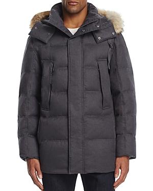 Marc New York Cumberland Fur Trim Parka