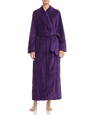 Oscar de la Renta Pink Label Long Plush Robe