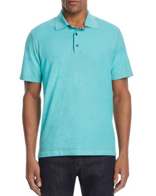 75fe90f3fa95 Robert Graham Stellar Classic Fit Polo Shirt - 100% Exclusive In Heather  Sea Green
