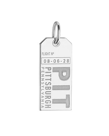 Jet Set Candy - Pittsburgh, Pennsylvania PIT Luggage Tag Charm