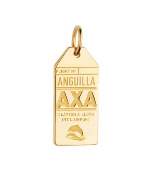 Jet Set Candy Anguilla, Axa Luggage Tag Charm