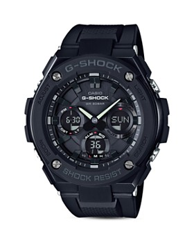 G-Shock - Analog and Digital Combo Solar Strap Watch, 55.2mm