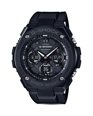 Analog and Digital Combo Solar Strap Watch