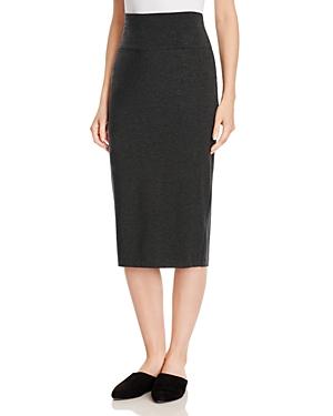 Eileen Fisher Petites Foldover Waist Knit Skirt