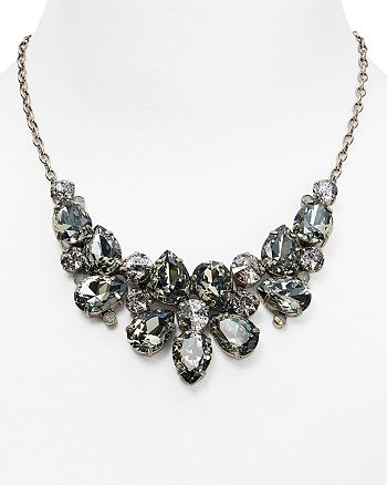 Sorrelli - Crystal Statement Necklace, 17.5""