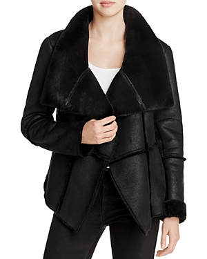cupcakes and cashmere Rivina Faux Shearling Jacket