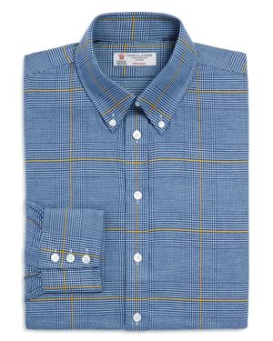 Turnbull & Asser Windowpane Classic Fit Dress Shirt - 100% Exclusive