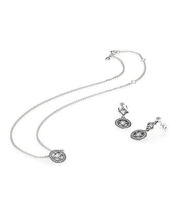 cebaa4ed6 Pandora - Sterling Silver & Cubic Zirconia Vintage Allure Jewelry Gift Set