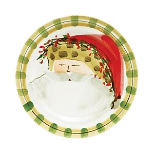 Vietri Old St. Nick Dinner Plate