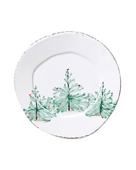 VIETRI - Lastra Holiday Salad Plate
