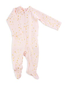 Aden and Anais Girls' Star Print Footie - Baby - Bloomingdale's_0