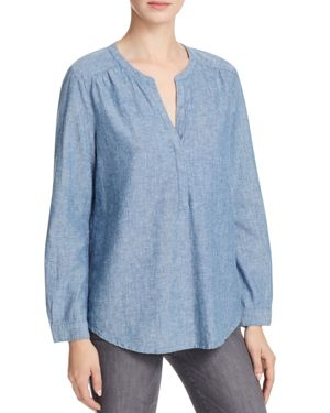 Joie Carita Chambray Top