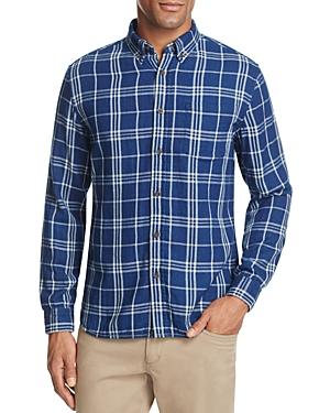 Surfside Supply Plaid Regular Fit Button-Down Shirt