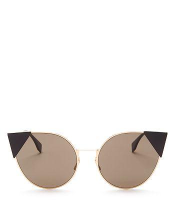 Fendi - Women's Cat Eye Sunglasses, 55mm