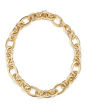 14K Yellow Gold Link Necklace - 100% Exclusive
