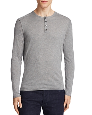 Boss Orange Koastly Long Sleeve Henley Tee