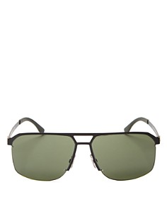 HUGO - Men's Square Top Bar Sunglasses, 52mm