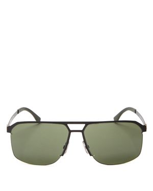 Hugo Boss Square Top Bar Sunglasses, 52mm