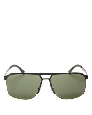 Hugo Boss Square Top Bar Sunglasses, 52mm
