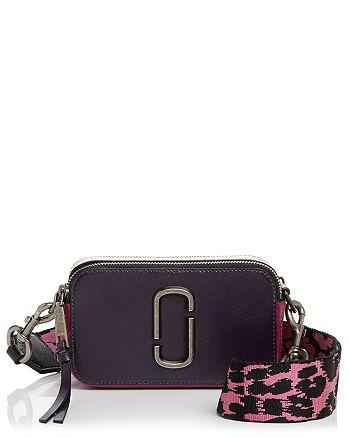 e1615dbcc631a MARC JACOBS Snapshot Color Block Saffiano Leather Camera Bag ...