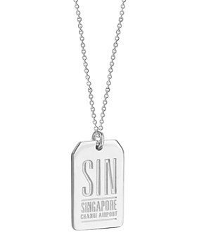 Jet Set Candy - SIN Singapore Luggage Tag Charm