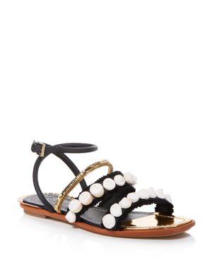 Tory Burch Sinclair Seashell Sandals