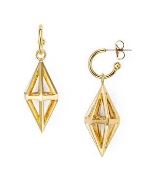 Volu Cage Drop Earrings