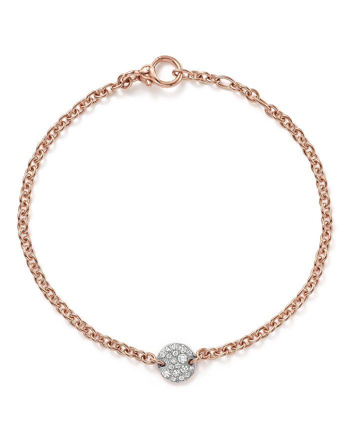 Pomellato SABBIA BRACELET WITH DIAMONDS IN 18K ROSE GOLD