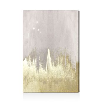 """Oliver Gal - Off White Starry Night Wall Art, 10"""" x 15"""""""