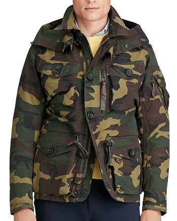 54e16f69d22c8 Polo Ralph Lauren - Camouflage Hooded Utility Jacket