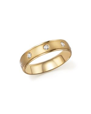 Diamond Men's Band in 14K Yellow Gold, .25 ct. t.w.
