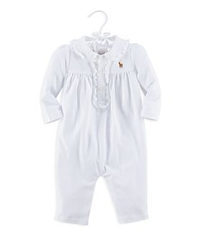 Ralph Lauren - Girls' Ruffled Coverall - Baby