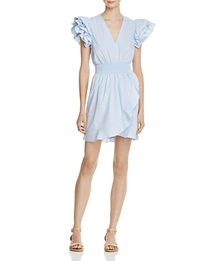 Sandro Camia Ruffle Dress - 100% Exclusive