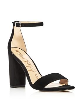 7fa05c8af99a Sam Edelman - Women s Yaro Ankle Strap Block Heel Sandals ...