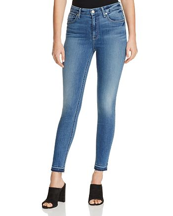 7 For All Mankind - b(air) The Ankle Skinny Jeans in Sunset